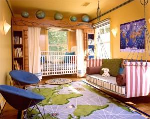 pod u dječjoj sobi