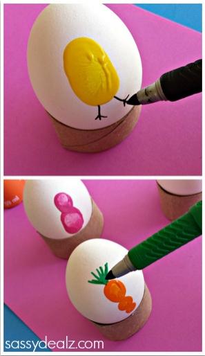 obojite jaja