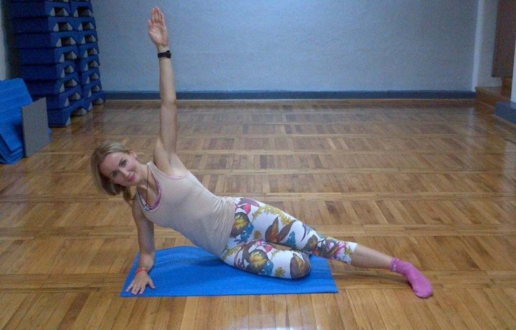 vježbe za trbuh, leđa, stražnjicu
