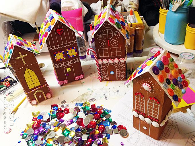 božićnu kućicu