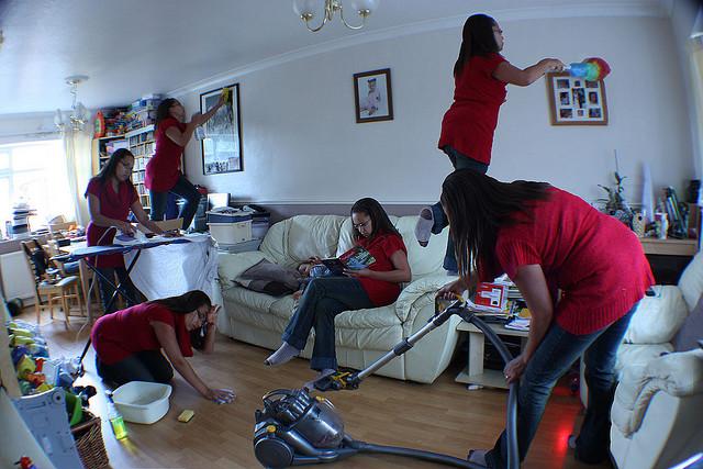 očistiti kuću