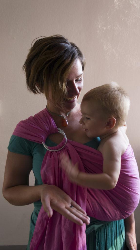 nošenje bebe