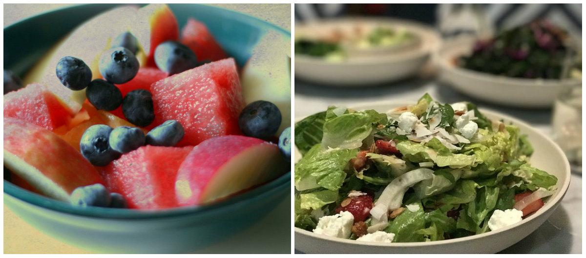 Brzi obrok: Pripremite slane ili voćne ljetne salate