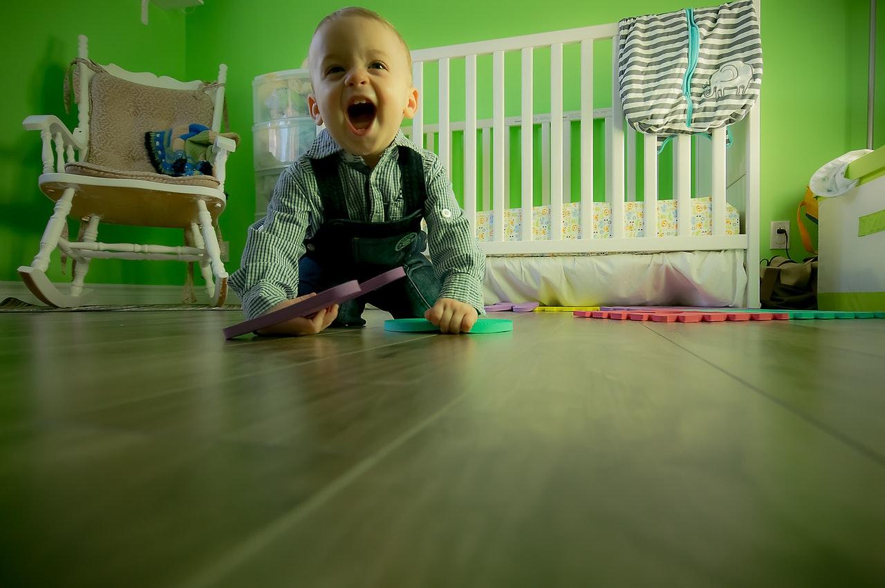 Kako boja sobe može utjecati na ponašanje djeteta