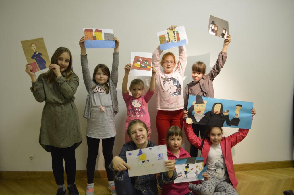 Mali prijatelji muzeja – kreativna avantura za djecu u Muzeju likovnih umjetnosti