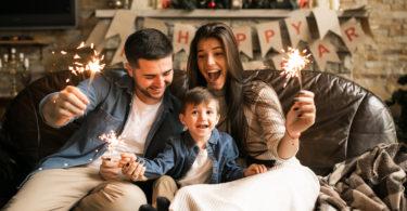 novu godinu s djecom