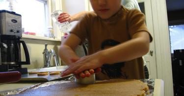 kuhanje s djecom