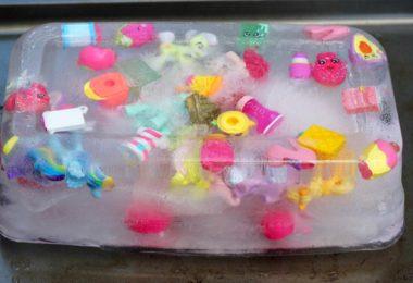 blago skriveno u ledu